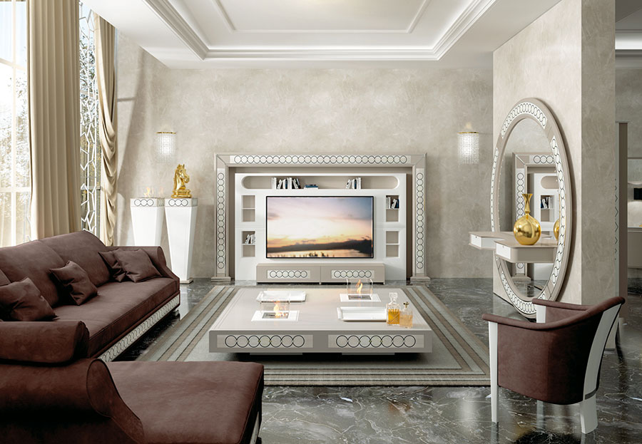 Soggiorno Classico Vismara Design n.01