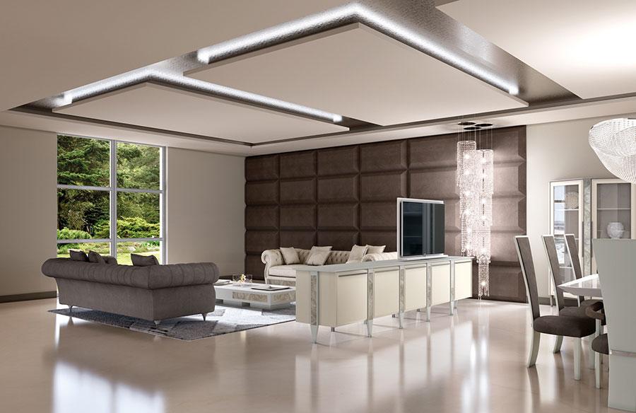 Soggiorno Classico Vismara Design n.06