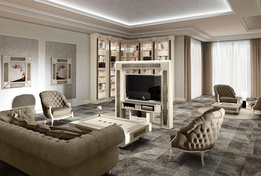 Soggiorno Classico Vismara Design n.07