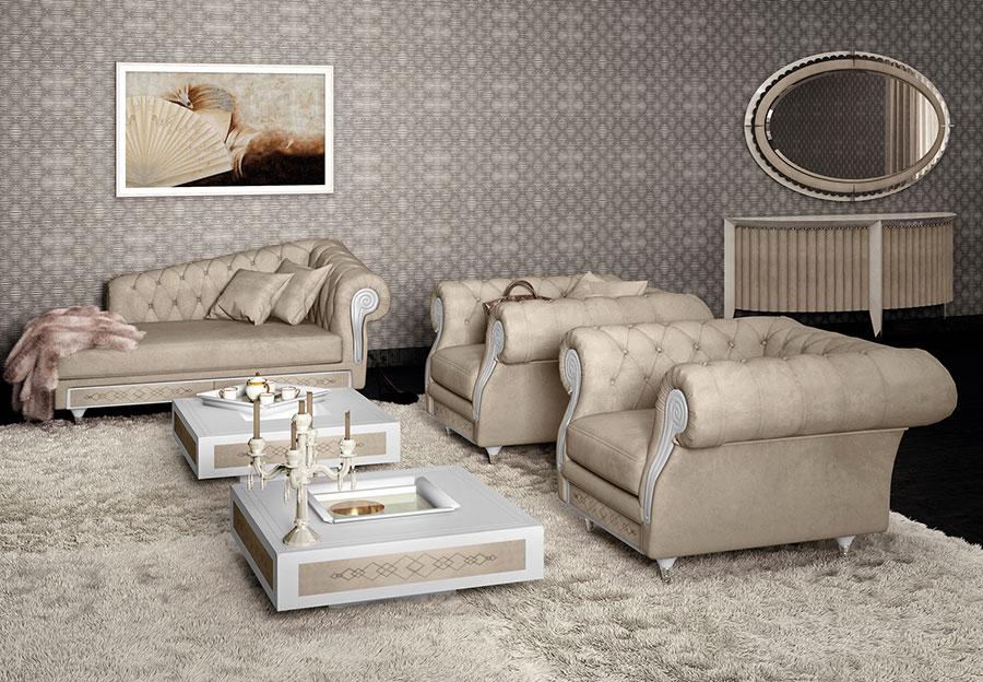 Soggiorno Classico Vismara Design n.10