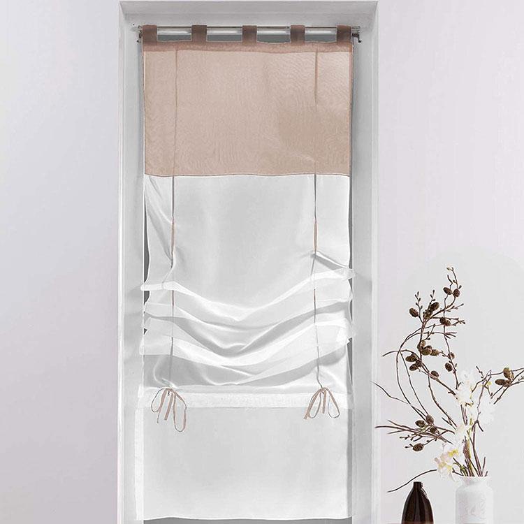Modello di tenda a vetro moderna n.04