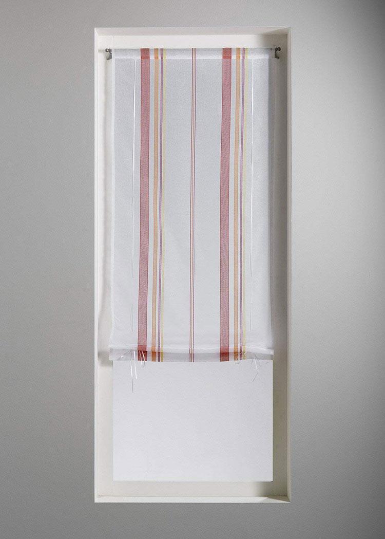 Modello di tenda a vetro moderna n.09