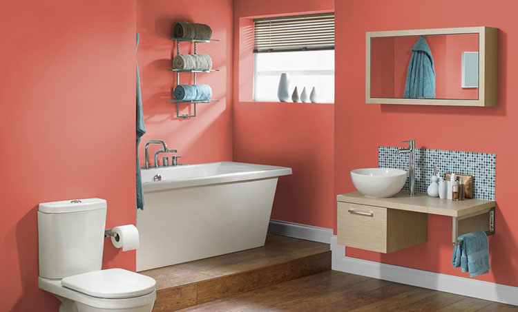 Idee bagno living coral n.2