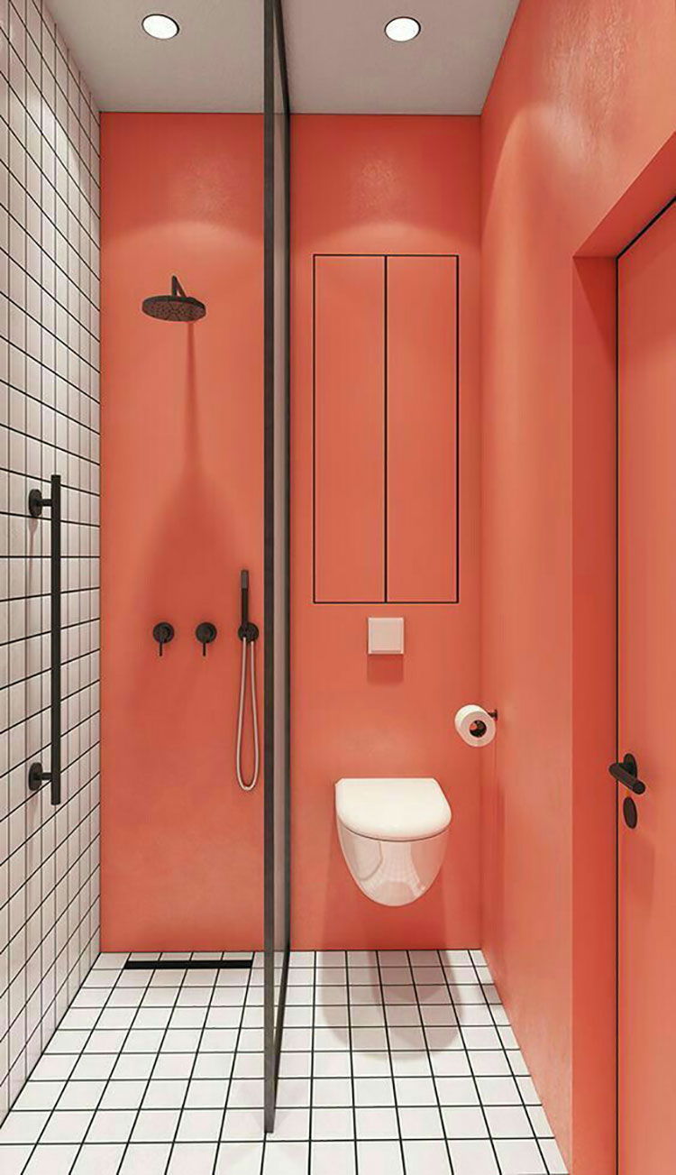 Idee bagno living coral n.3