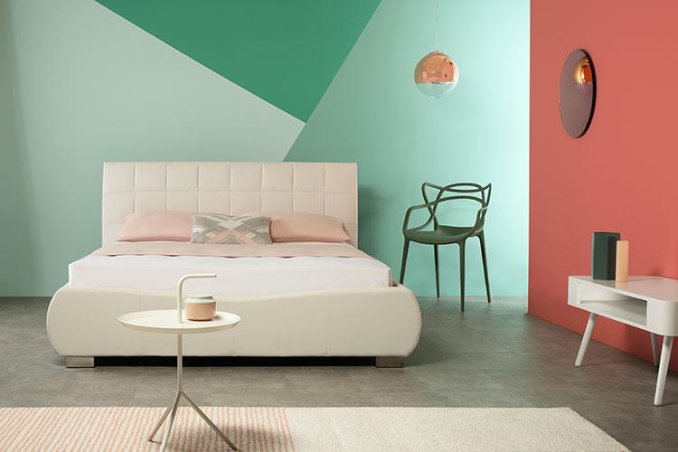 Idee camera da letto living coral n.1