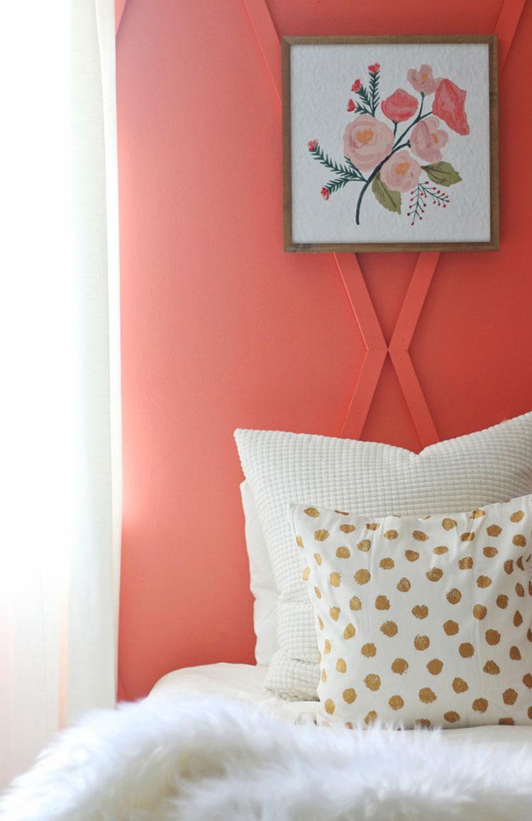 Idee camera da letto living coral n.2