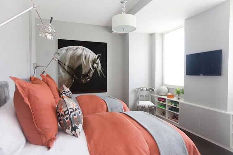 Idee camera da letto living coral n.3