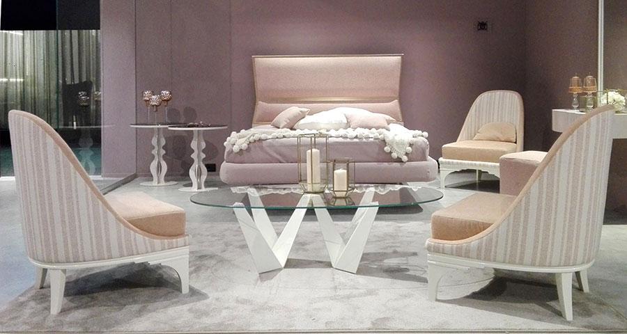 Camera da letto di lusso classica di CorteZari 08