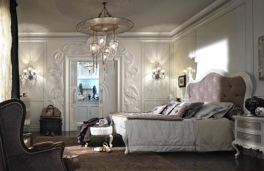 Camera da letto di lusso classica di Pregno 01