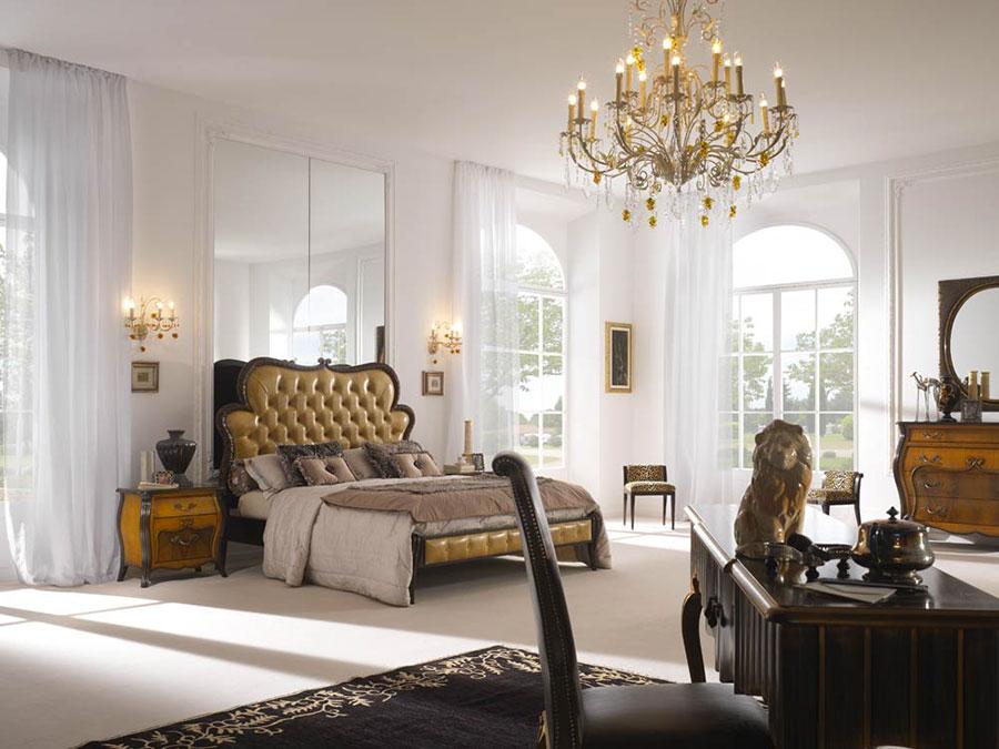 Camera da letto di lusso classica di Pregno 04