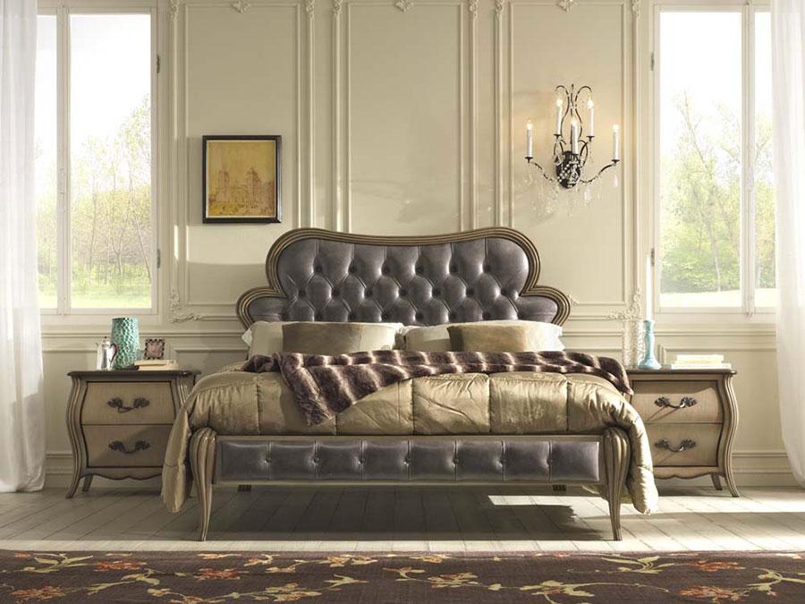 Camera da letto di lusso classica di Pregno 06