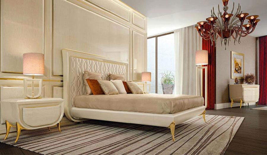 Camera da letto di lusso classica di ReDecò 03