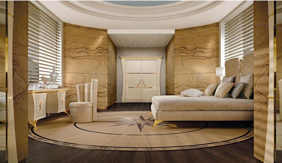 Camera da letto di lusso classica di ReDecò 04
