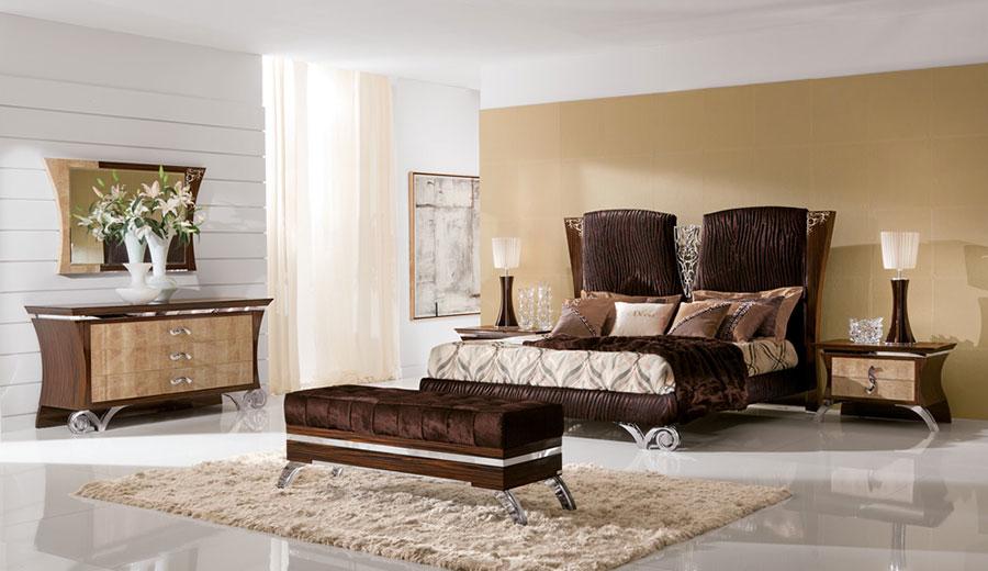 Camera da letto di lusso classica di ReDecò 05