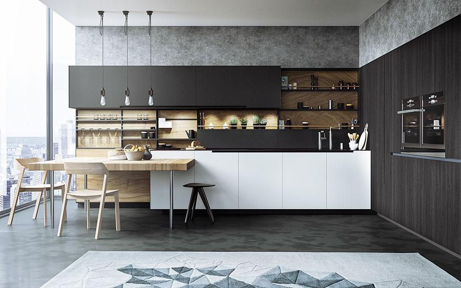 Progetto per cucina di lusso moderna n.11