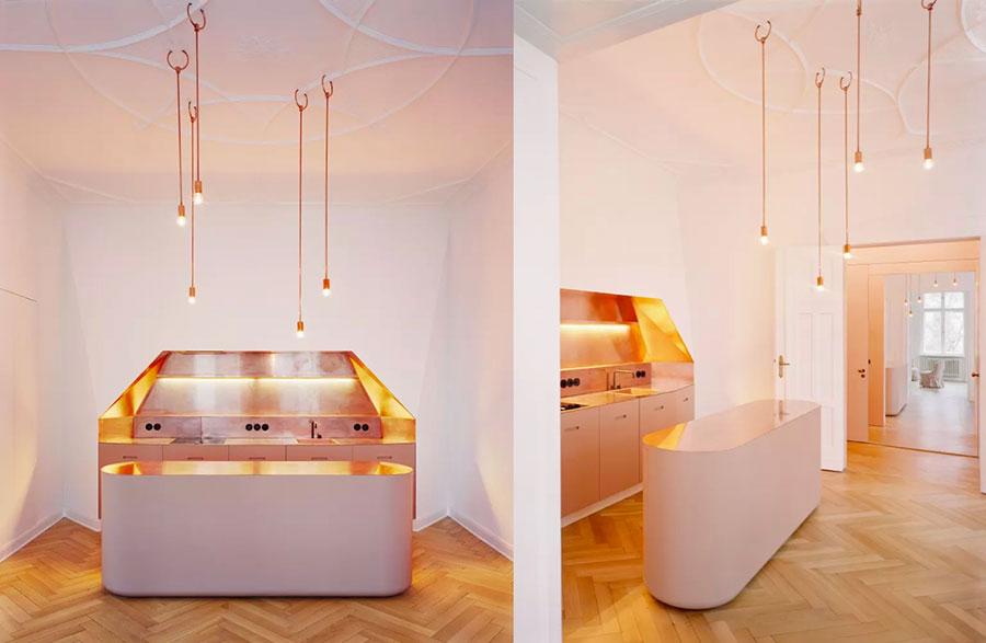 Progetto per cucina di lusso moderna n.13