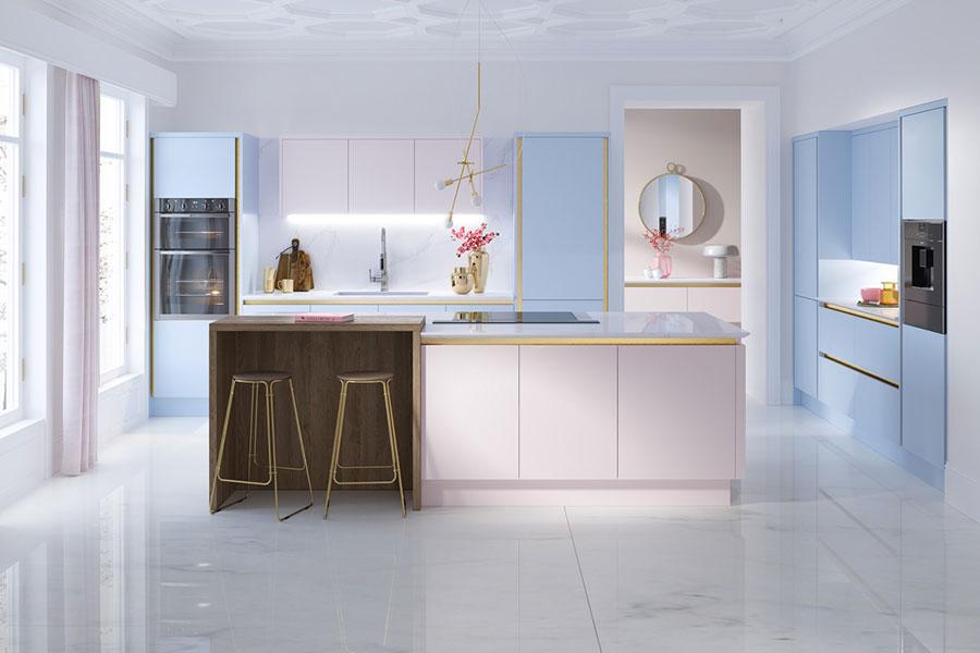 Progetto per cucina di lusso moderna n.15