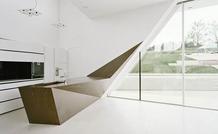 Progetto per cucina di lusso moderna n.31