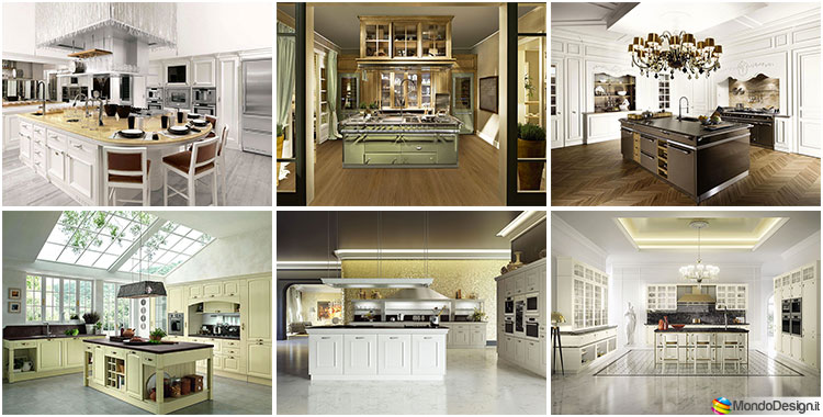 Cucine Classiche con Isola Centrale: 43 Modelli delle ...