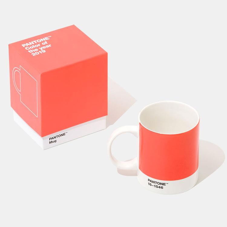 Utilizzo del colore Pantone 2019 Living Coral