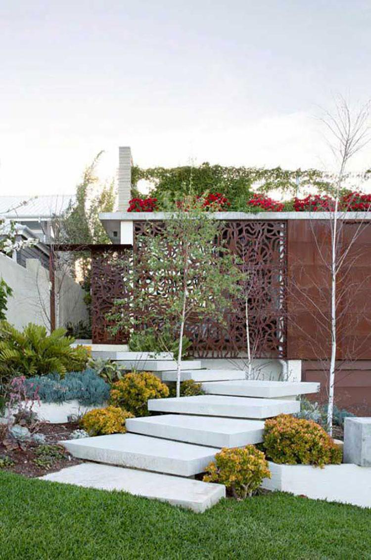 Giardini Per Case Moderne 22 fantastiche idee per scale esterne moderne | mondodesign.it