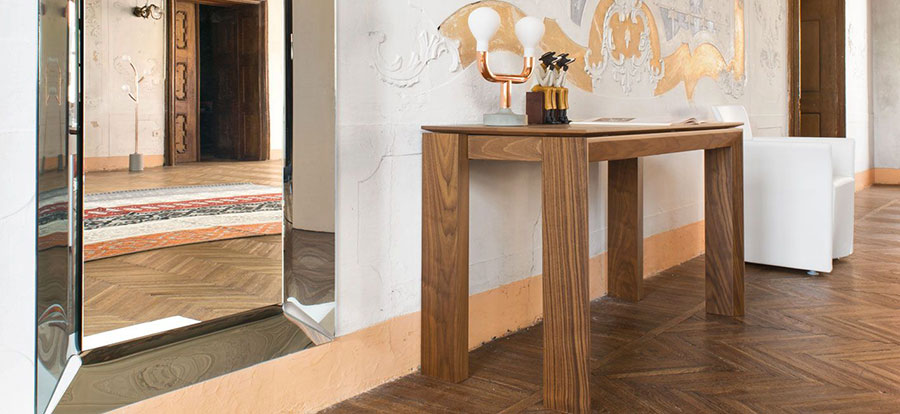 20 modelli di tavoli salvaspazio delle migliori marche for Calligaris consolle