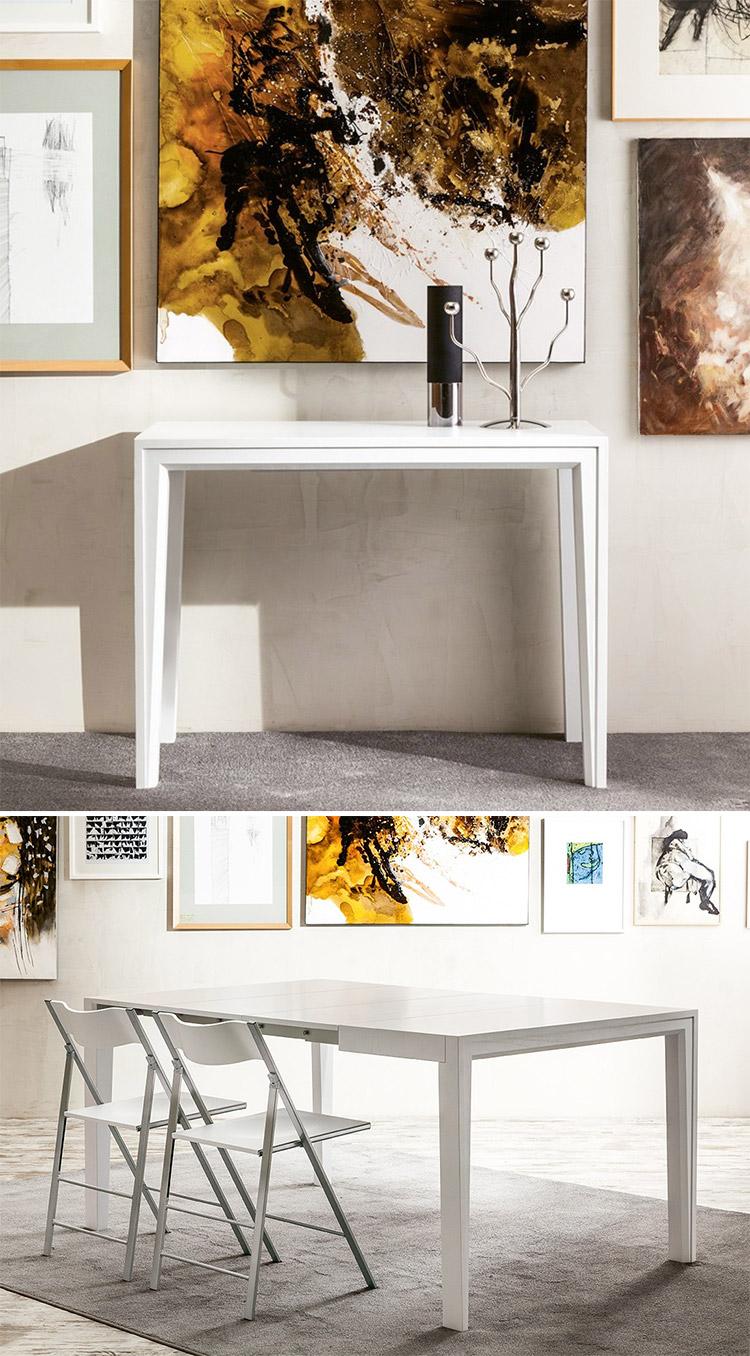 Modello di tavolo salvaspazio di Pacini e Cappellini n.1