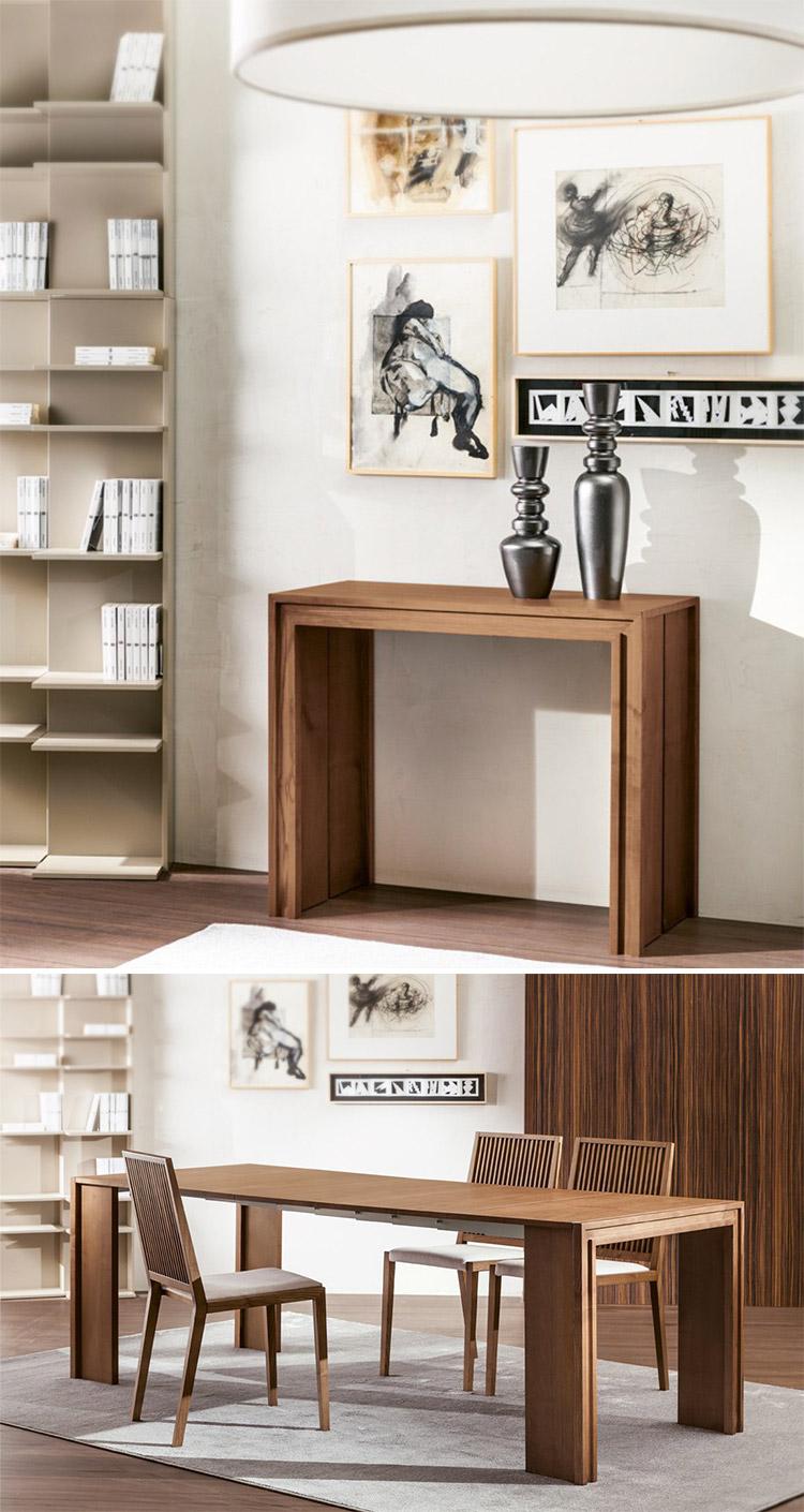 Modello di tavolo salvaspazio di Pacini e Cappellini n.2