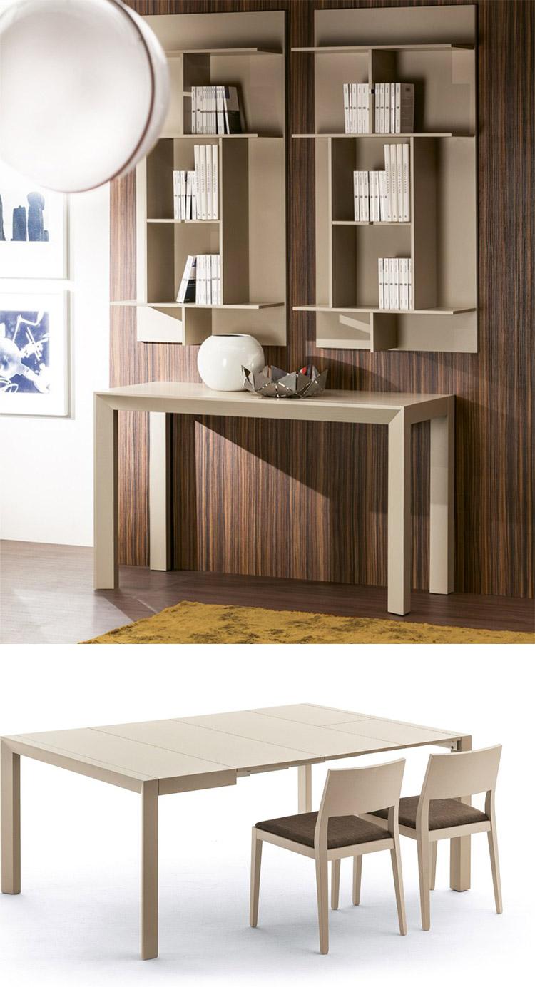 Modello di tavolo salvaspazio di Pacini e Cappellini n.3