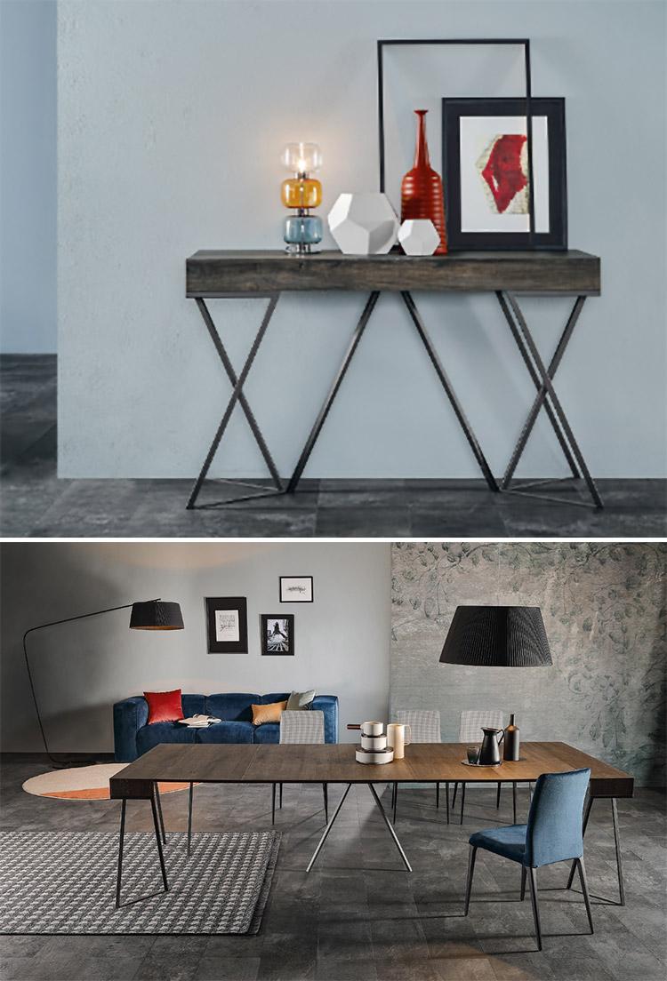 Modello di tavolo salvaspazio di Tonin Casa n.1