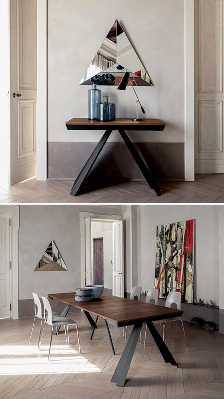 Modello di tavolo salvaspazio di Tonin Casa n.2