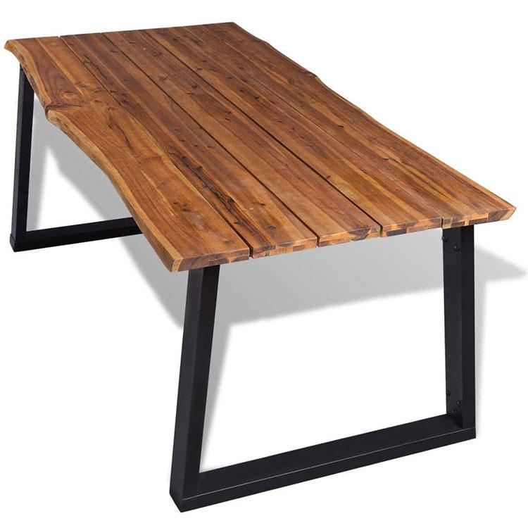 Modello di tavolo industrial di Amazon n.1
