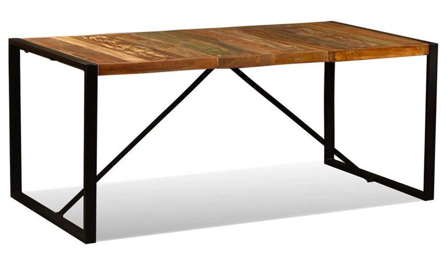Modello di tavolo industrial di Amazon n.2