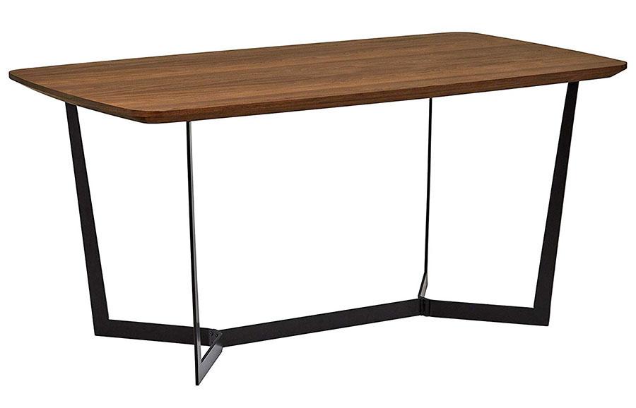 Modello di tavolo industrial di Amazon n.3