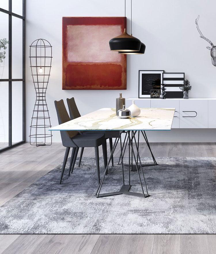 Modello di tavolo industrial Leon di Barel