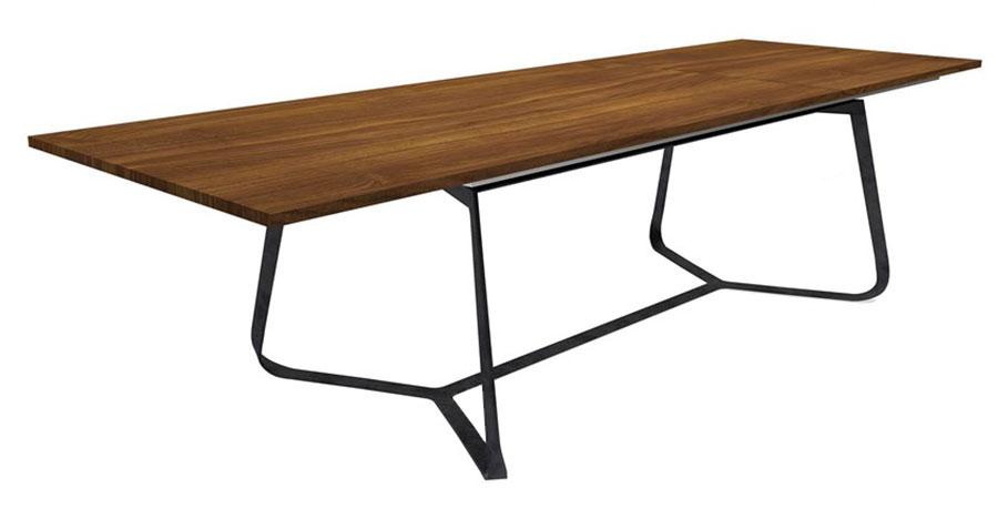 Modello di tavolo industrial Maestrale di Barel