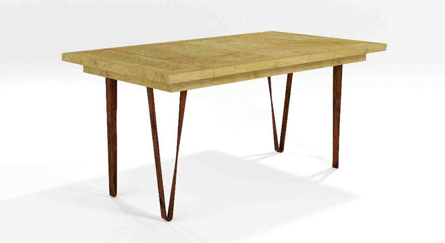 Modello di tavolo industrial Margherita di Barel