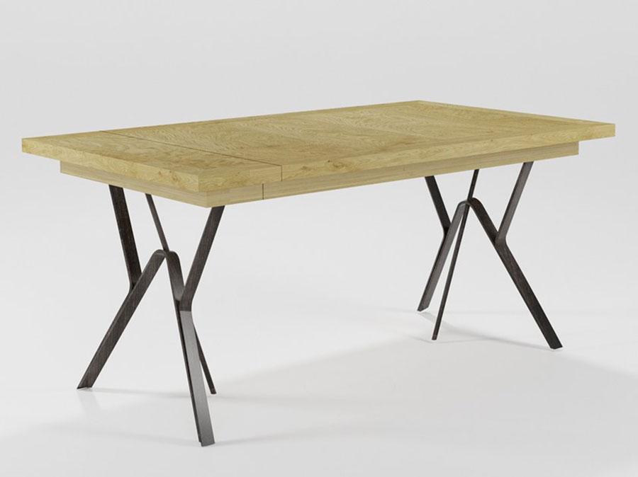 Modello di tavolo industrial Rosa di Barel