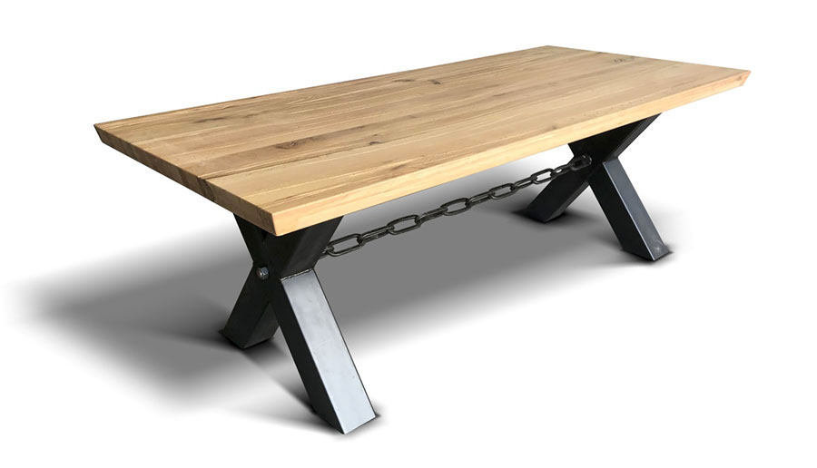 Modello di tavolo industrial Kette di Ecomatrix