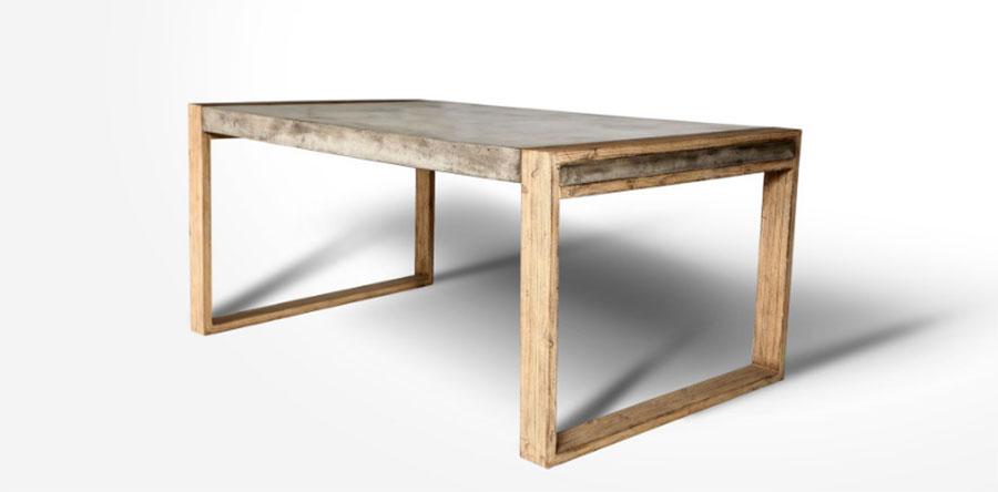 Modello di tavolo industrial GreenStone n.2