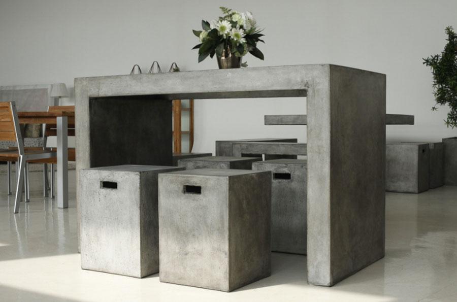 Modello di tavolo industrial GreenStone n.3