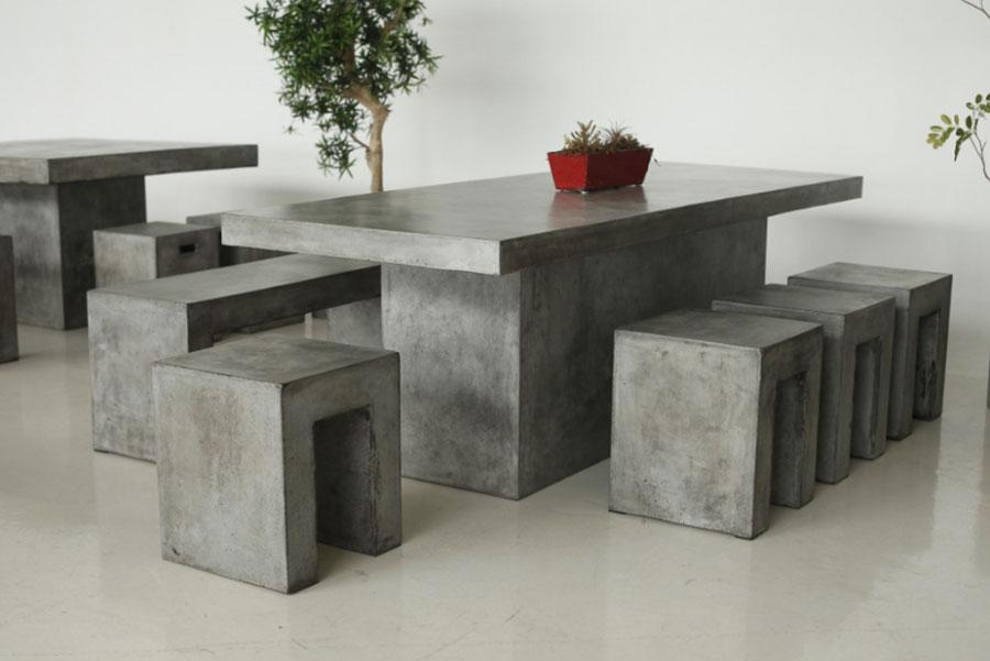 Modello di tavolo industrial GreenStone n.4