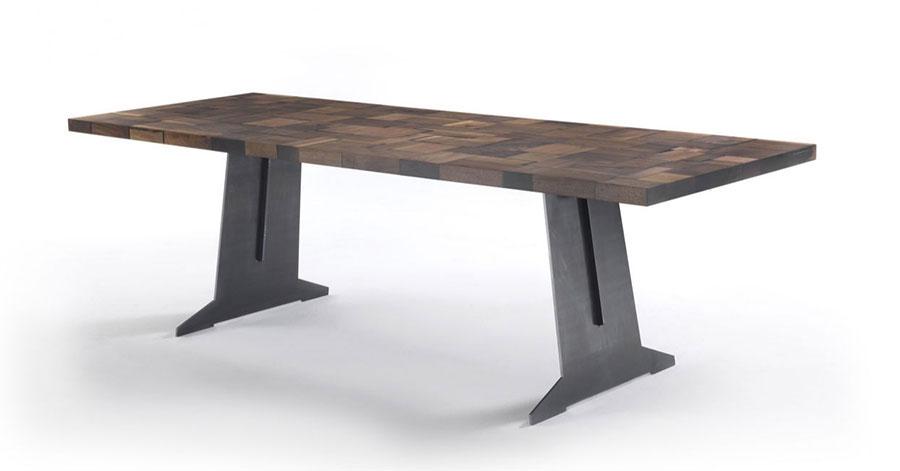 Modello di tavolo industrial Goodwood di Riva