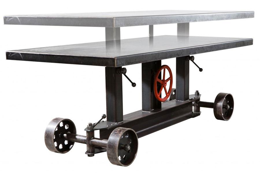 Modello di tavolo industrial Antico di Sturdy Legs n.2