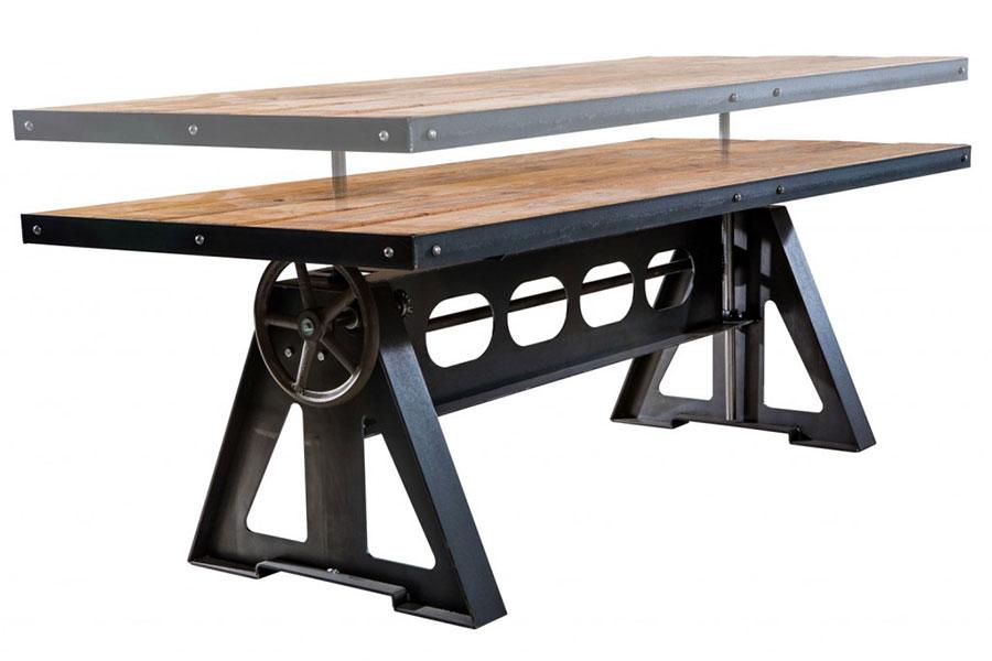 Modello di tavolo industrial Antico di Sturdy Legs n.3