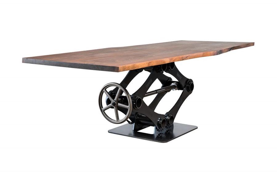 Modello di tavolo industrial Antico di Sturdy Legs n.4