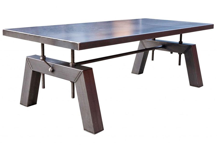 Modello di tavolo industrial Antico di Sturdy Legs n.6
