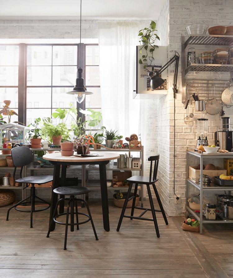 Modello di tavolo industrial Gamlared di Ikea