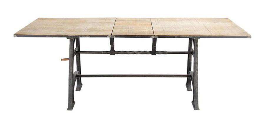Tavolo stile industriale ecco 50 modelli per ogni esigenza - Tavolo maison du monde ...