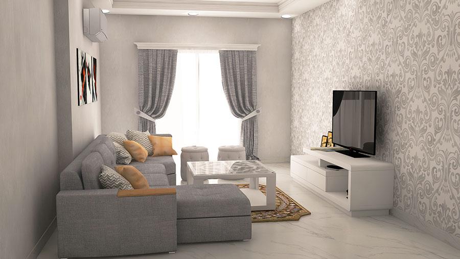 108 idee per arredare un piccolo soggiorno come arredare for Arredamento soggiorno moderno idee